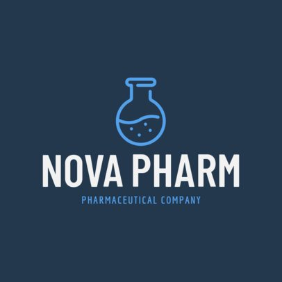 Modern Logo Maker for a Pharmaceutical Company 1172k-201-el