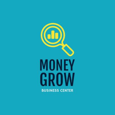 Online Logo Generator for a Financial Business Center 1203j 209-el
