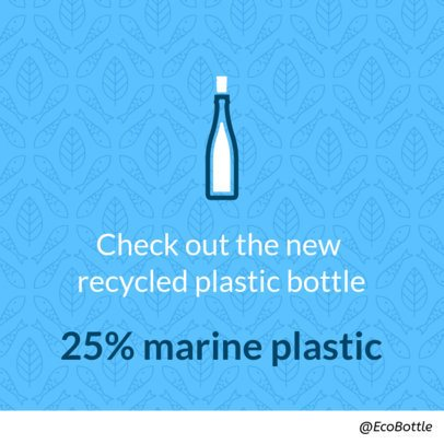 Facebook Post Template for an Eco-Friendly Product 2029