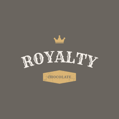 Elegant Logo Design Template for a Chocolate Company 1216f-284-el