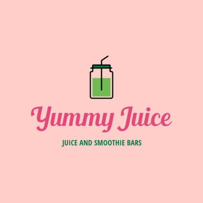 Logo Generator for a Juice and Smoothie Bar 1267l 193-el