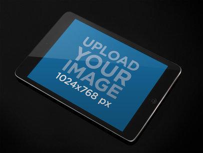Black Portrait iPad Mini