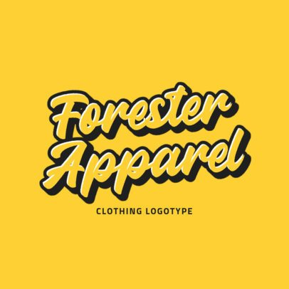 Another Place-Inspired Logo Maker for a Clothing Brand 2751a