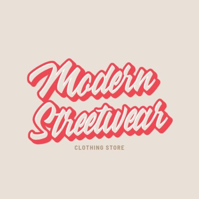 Modern Streetwear Logo Creator in the Style of Another Place 2751b