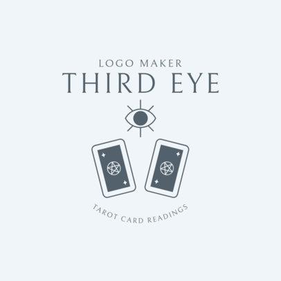 Mystic Logo Maker for a Tarot Reader 2724a