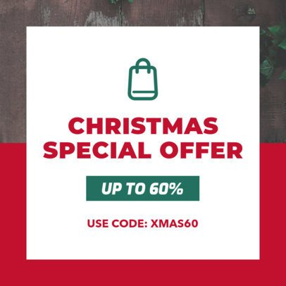 Christmas Coupon Design Maker for a Special Offer 1030k-246-el