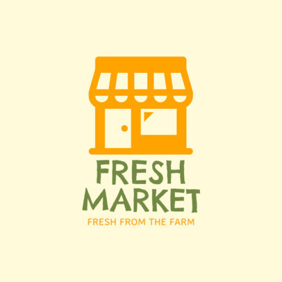 Logo Maker for a Fresh Products Market Place 1182f-290-el