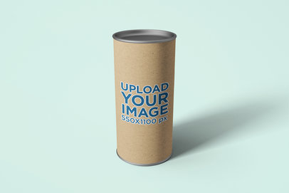 Paper Tube Mockup with Customizable Background 1617-el
