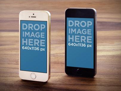 iPhone 5s Gold & Dark Gray