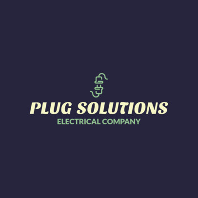 Logo Maker for an Electrical Contracting Company 1183i 241-el