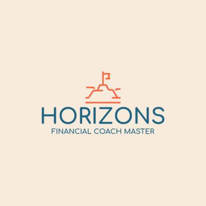 Simple Financial Coaching Logo Maker