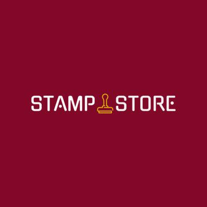 Logo Maker for an Artsy Stamp Store 1275f-294-el