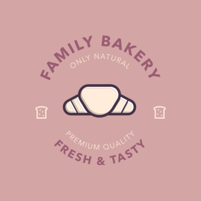 Online Logo Maker for a Bakery Business 220-el