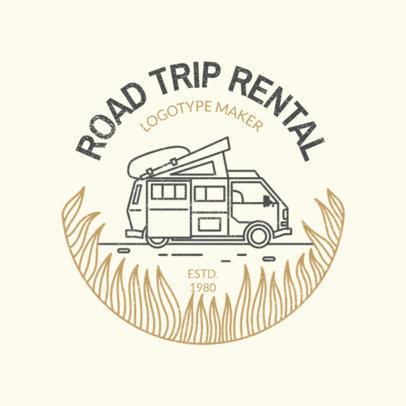Logo Template for a Car Rental Company 2773