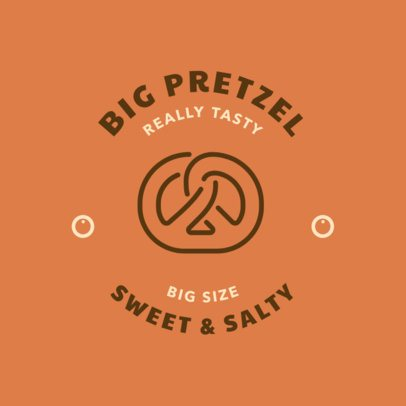 Online Logo Maker for a Pretzel Bakery 220c-el
