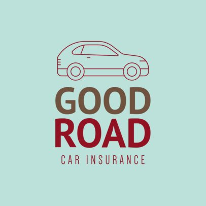 Online Logo Creator for a Car Insurance Company 277b-el
