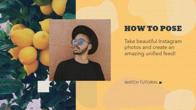 YouTube Banner Maker with Posing Tips 2054e
