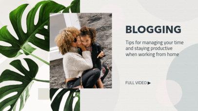 YouTube Banner Maker for Blogging Influencers 2054f