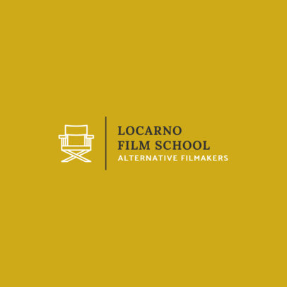 Logo Maker for a Film School 275-el