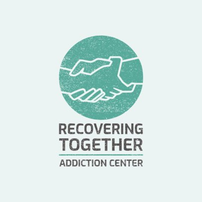 Online Logo Maker for an Addiction Treatment Center 2772c