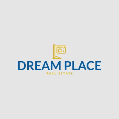 Logo Template for a Real Estate Business 264c-el