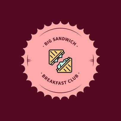 Logo Design Template for Breakfast Restaurants