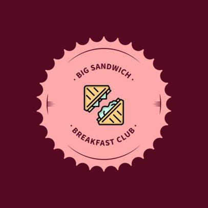 Logo Design Template for Breakfast Restaurants 366c-el