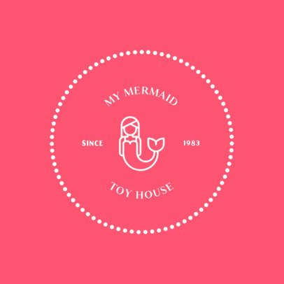 Simple Logo Design Maker for a Toy House 318b-el