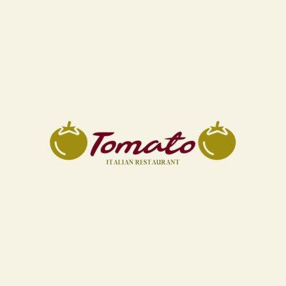 Elegant Logo Maker for an Italian Restaurant 286c-el1