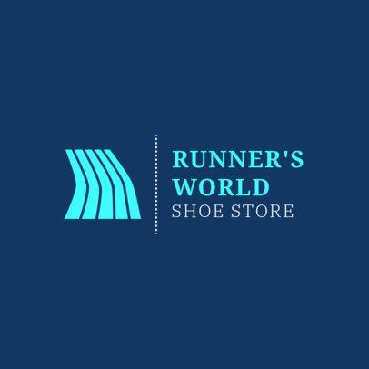 Running Logo Maker for a Running Shoe Store 1543b