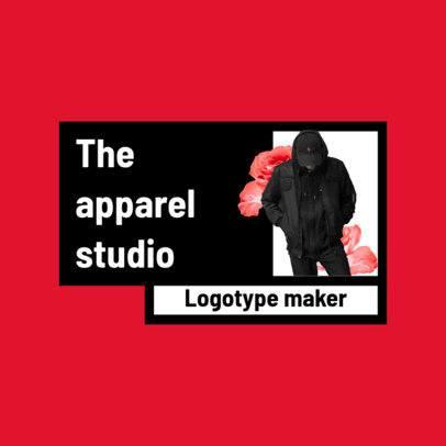 Minimalist Logo Template for an Apparel Studio 2806b