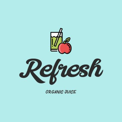 Logo Design Template for a Juice Restaurant 315b-el1