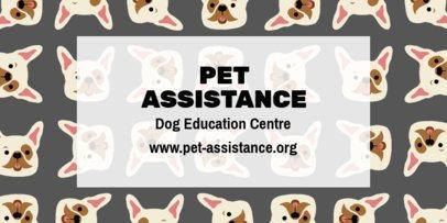 Pet Education Center Twitter Header Template 2121c