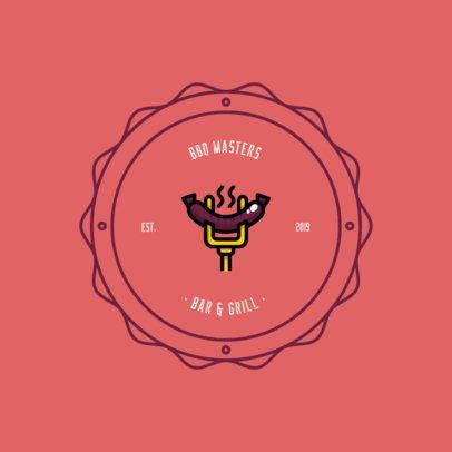 Online Logo Maker for a BBQ Grill Bar 311-el1