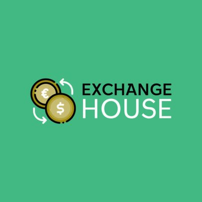 Exchange House Logo Maker 479b-el1