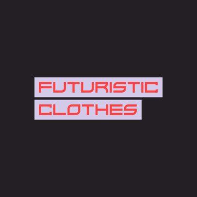 Streetwear Logo Maker Featuring a Futuristic Font 2721i-2833