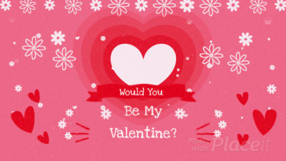 Facebook Cover Video Maker with a Valentine's Day Theme 2025
