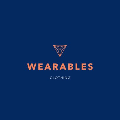 Minimalistic Logo Template for a Clothing Brand 1315i-2834