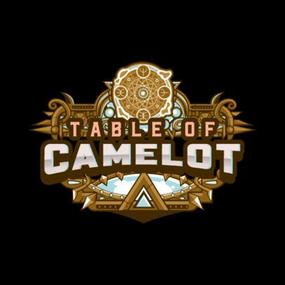 Fantasy-Styled Gaming Logo Creator 1878f-2838