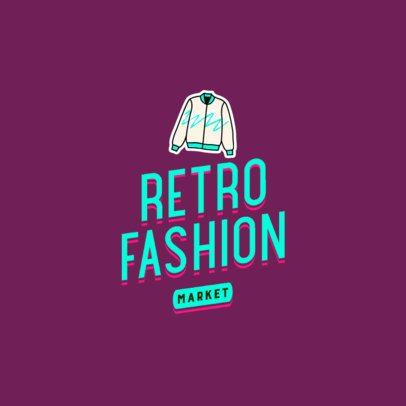 Fashion Logo Template for a Retro Market 2627m-2836