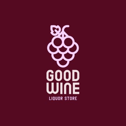 Online Logo Template for an Organic Wine Brand 301a-el1