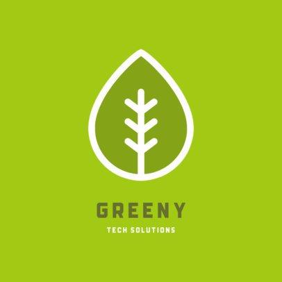 Online Logo Maker for an Eco-Friendly Tech Company 223a-el1