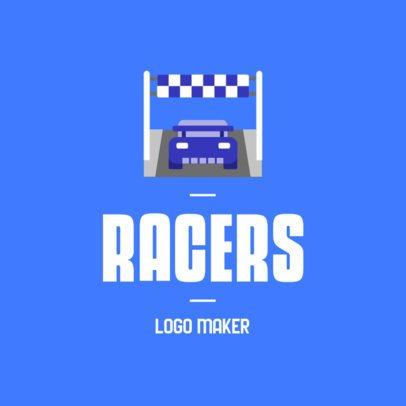 Online Logo Maker for Car Racers 382a-el1