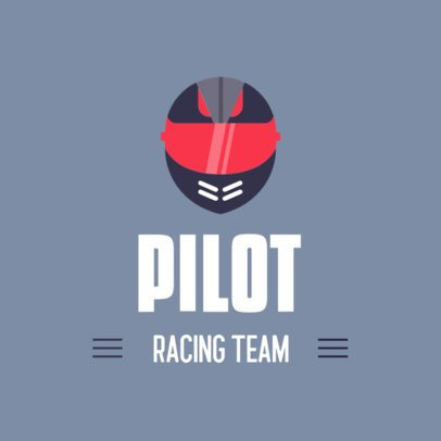 Simple Logo Template for a Car Racing Team 382b-el1
