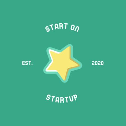 Startup Logo Creator with a Star Graphic 274b-el1