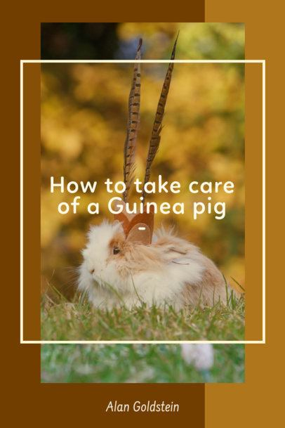 Pinterest Pin Template for Guinea Pig Owners 2150a