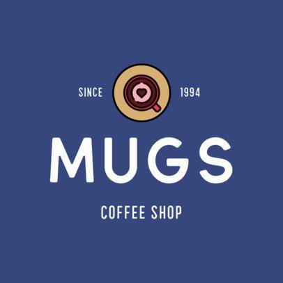 Logo Creator with a Coffee Mug Graphic 501c-el1