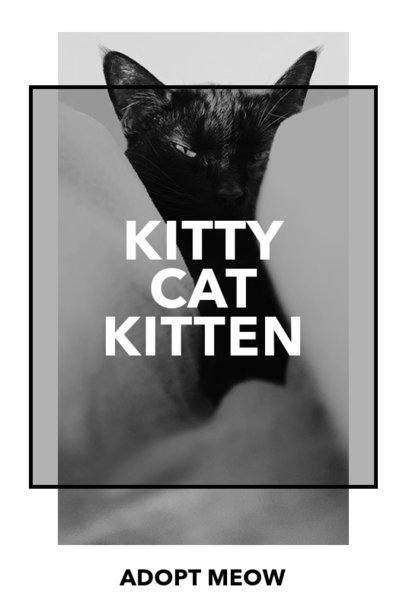 Pinterest Pin Maker for Cat Adoption 2150g