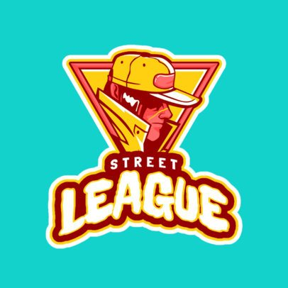 Logo Maker for a Fighting Game Team 523k-2862