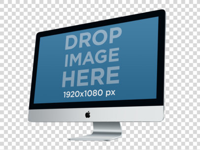 27 Inch iMac 2011 Perspective